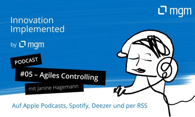 Agile Controlling - Podcast and Interview with Janine Hagemann